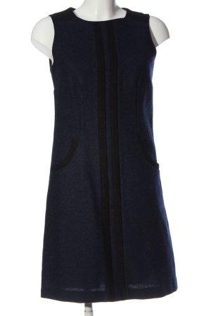 Boden Wollkleid blau-schwarz Casual-Look