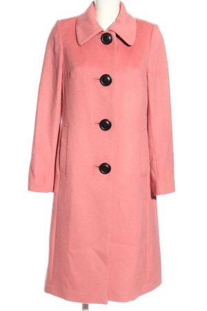 Boden Abrigo de lana rosa elegante