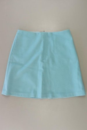 Boden Wool Skirt turquoise wool