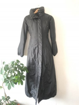 Bodenlanger Mantel Schwarz 36