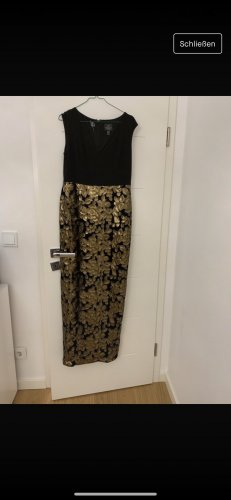 Adrianna Papell Evening Dress gold-colored-black