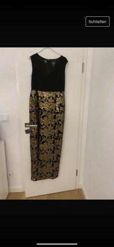 Adrianna Papell Vestido de noche color oro-negro