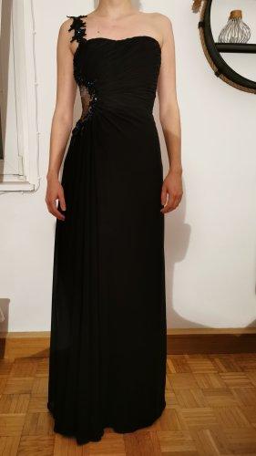 Peek und Cloppenburg Robe de bal noir-bleu pétrole