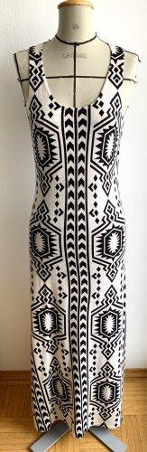 Bodenlanges Kleid aus Cashmere und Seide von FTC