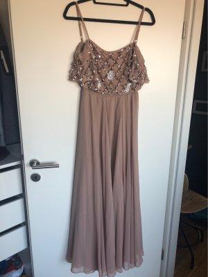 Bodenlanges Kleid mit Pailletten