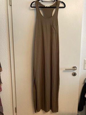 Bodenlanges Kleid mit Schlitz