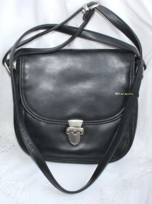 Bodenschatz Handbag black leather
