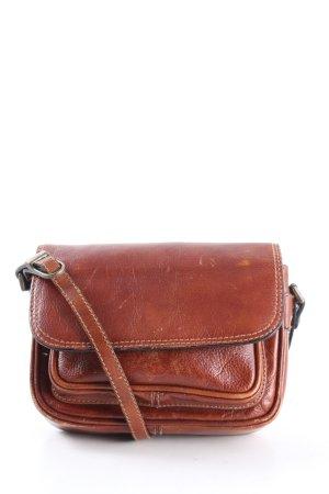 Bodenschatz Sac bandoulière brun style d'affaires
