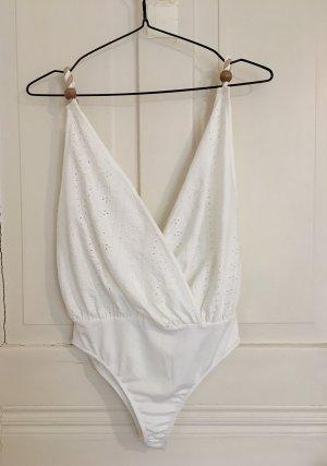 Zara Body blanc-brun sable