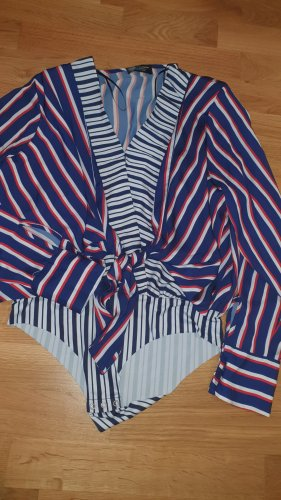 Zara Accesoires Blusa tipo body multicolor