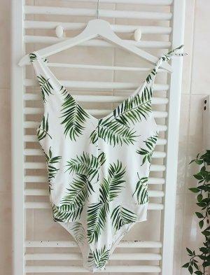 Devided von H&M Basic Bodysuit white-green