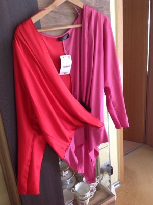 Zara Woman Bodysuit Blouse multicolored polyester