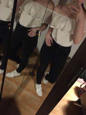 Halyes Carmen Shirt white