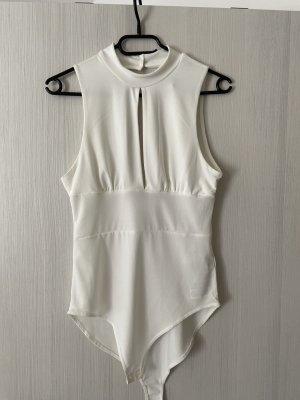 Amisu Blusa tipo body blanco