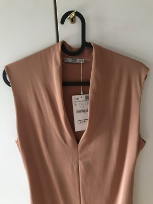 Zara Haut basique abricot-rose chair