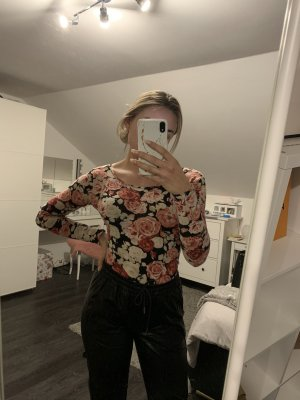 Cropped Shirt rose-gold-coloured-white