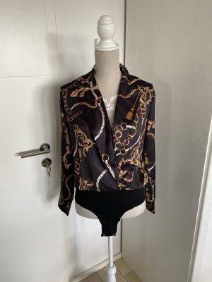 aus Italy Body koszulowe czarny-złoto