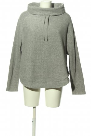 Body by Tchibo Oversized Sweater light grey flecked casual look