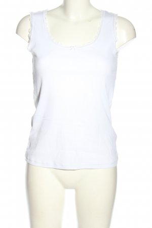 Body by Tschibo Top basic biały W stylu casual