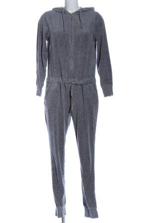 Body by Tschibo Tuta grigio chiaro puntinato stile casual