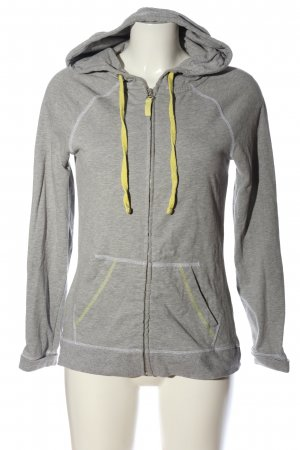 Body by Tchibo Hooded Sweatshirt light grey flecked casual look