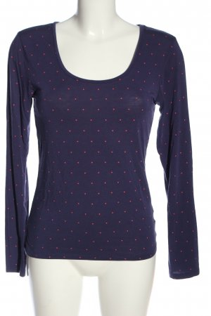 Body by Tschibo Longsleeve lilac-pink spot pattern casual look