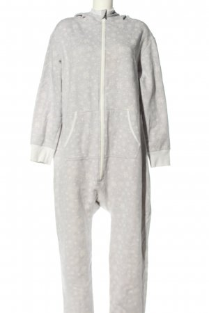Body by Tschibo Onesie hellgrau-weiß Allover-Druck Casual-Look