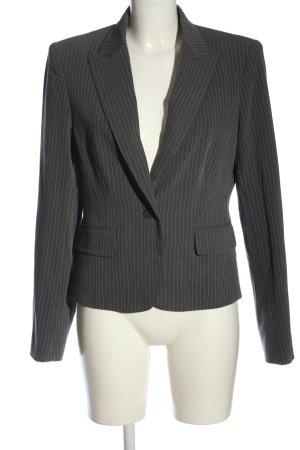 Body by Victoria Blazer corto grigio chiaro motivo a righe stile professionale