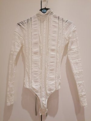 Next Blusa tipo body blanco