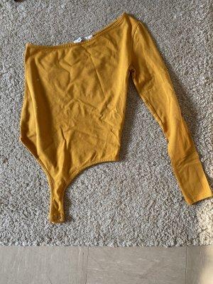 Nakd Eénschoudershirt goud Oranje