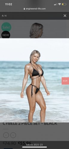 Body Engineers Bikini noir
