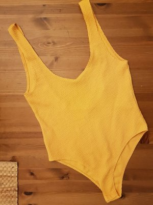 Bik Bok Top schiena coperta arancione chiaro