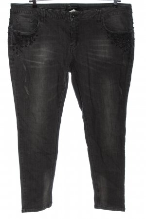 BODY FLIRT 7/8-jeans zwart casual uitstraling