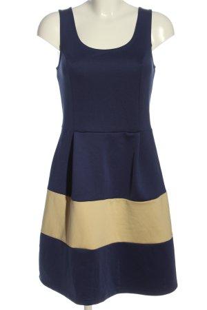BODY FLIRT A Line Dress blue-cream casual look