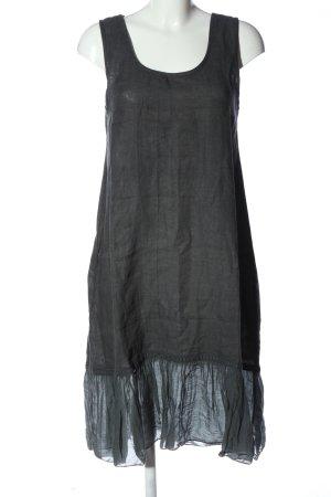 BODY FLIRT A-Linien Kleid hellgrau Casual-Look