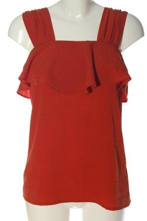 BODY FLIRT Blusa senza maniche rosso stile casual
