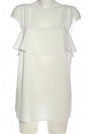 BODY FLIRT Mouwloze blouse wit casual uitstraling