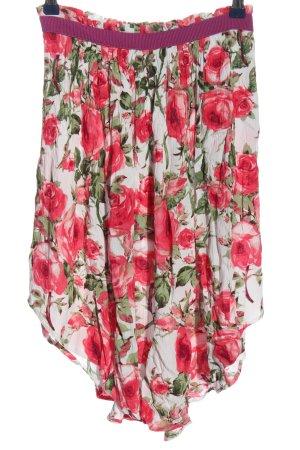 BODY FLIRT Falda asimétrica estampado floral look casual