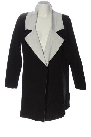 BODY FLIRT Cardigan zwart-lichtgrijs gestippeld zakelijke stijl