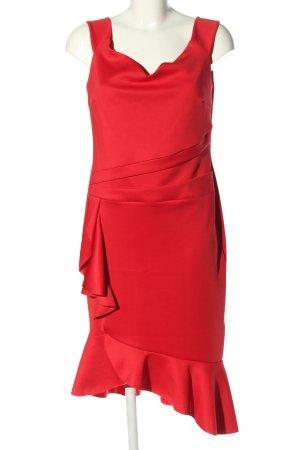 BODY FLIRT Sukienka koktajlowa czerwony W stylu biznesowym