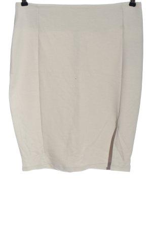 BODY FLIRT Rok met hoge taille wit casual uitstraling
