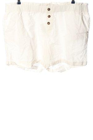 BODY FLIRT Short moulant blanc style décontracté