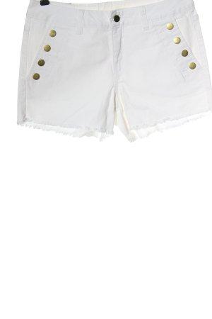 BODY FLIRT Spijkershort wit casual uitstraling