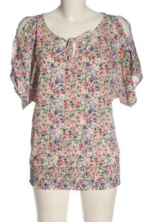 BODY FLIRT Kimono-Bluse Allover-Druck Elegant