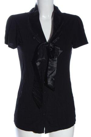 BODY FLIRT Short Sleeve Shirt black casual look