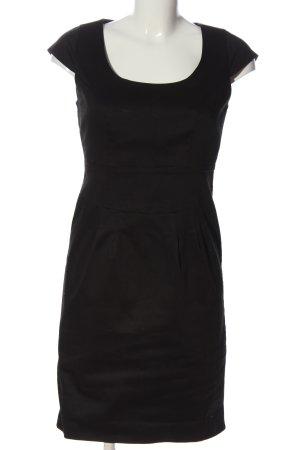BODY FLIRT Sukienka z krótkim rękawem czarny W stylu biznesowym