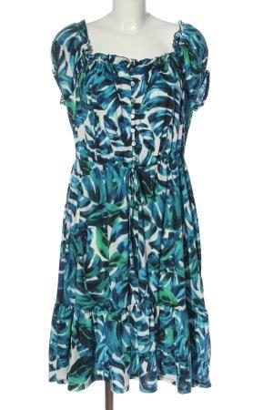 BODY FLIRT Sukienka z krótkim rękawem Na całej powierzchni W stylu casual