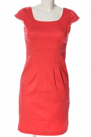 BODY FLIRT Sukienka z krótkim rękawem czerwony W stylu casual