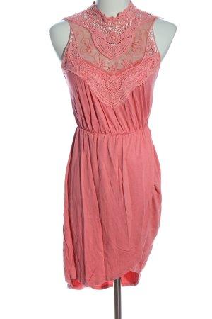 BODY FLIRT Kurzarmkleid pink Casual-Look