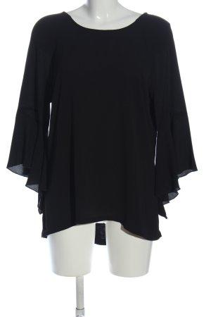 BODY FLIRT Bluzka z długim rękawem czarny W stylu biznesowym